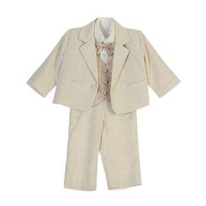 COSTUME - TAILLEUR Costume 5 pièces cérémonie - bébé garçon - beige