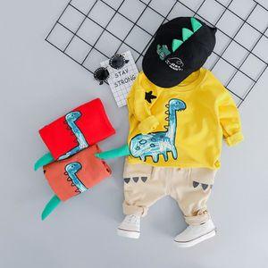 JEANS Tout-petits enfants Bébés garçons Sweatshirt Carto