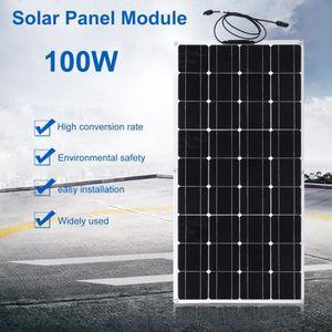 KIT PHOTOVOLTAIQUE 100w 12v dispositif de charge solaire extérieur de