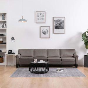 Salon bas de jardin Canapé à 4 places 254 x 70 x 75 cm (l x P x H) Tau