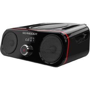 RADIO CD CASSETTE SCHNEIDER SC420BBXBLK Radio CD Bluetooth USB Diabo
