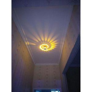 APPLIQUE  Applique Murale Interieur LED Effet Moderne 3W Jau
