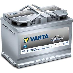 BATTERIE VÉHICULE VARTA Batterie Auto E45 (+ droite) 12V 70AH 650A