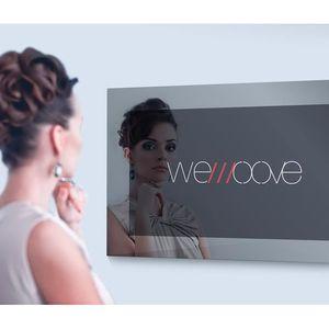 Téléviseur LED TV Miroir HEVC étanche 54 cm (21,5'') WEMOOVE WM-M