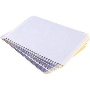 PAPIER TRANSFERT 100 feuilles Papier Tatouage à Transfert  A4 Réali