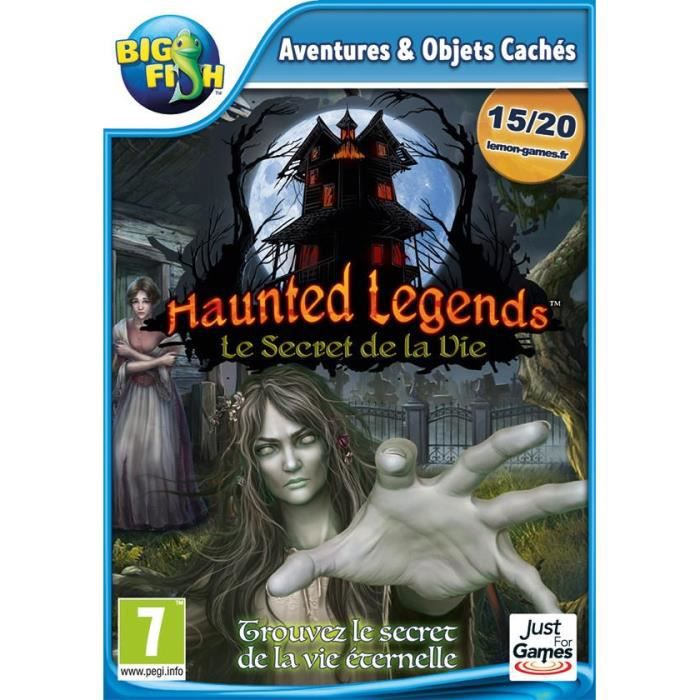 Haunted Legends Le Secret de la Vie Jeu PC