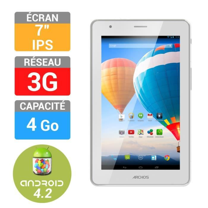 informatique tablettes tactiles ebooks archos  xenon go g f