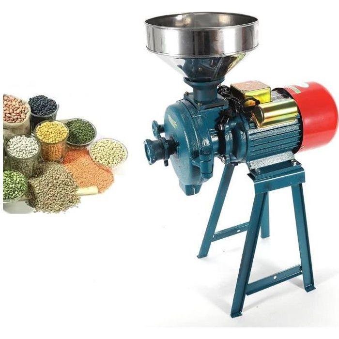 Grinder Grande rectifieuse Moulin à grains électrique sec et humide grain maïs poivre fruit