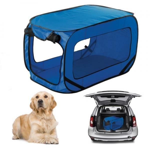 Sac de transport pliable chien - bleu