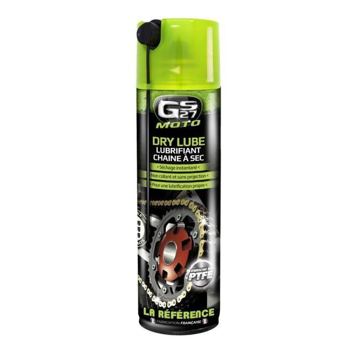 GS27 Dry Lube Lubrifiant Chaine à Sec - 500 ml