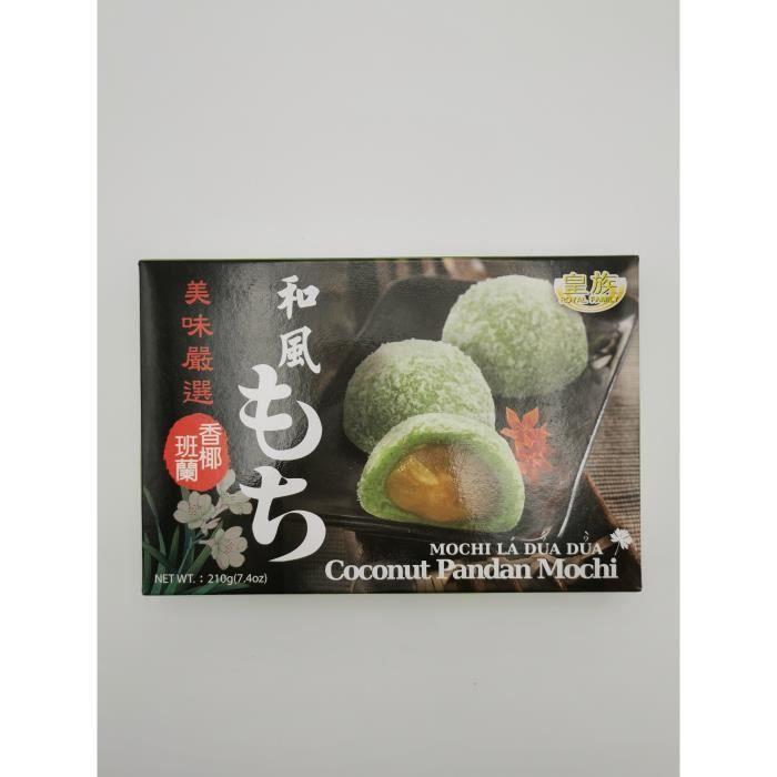 Mochi Noix de Coco & Pandan 210g Royal Family