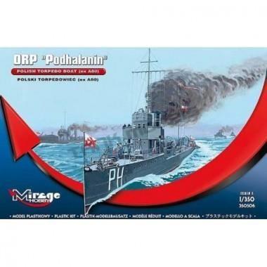 Maquette Polish Torpedo boat Podhalanin
