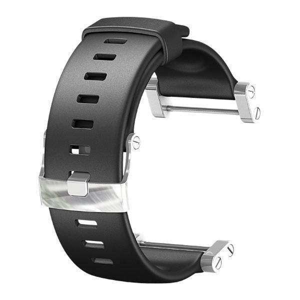SUUNTO Bracelet de Montre Core FLAT Noir Silicone