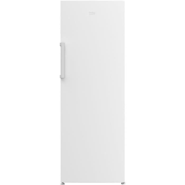 BEKO RFNE290I31W - Congélateur Armoire - 250L - Froid ventilé No frost - A++ - L 59,5 x H 171.4 cm - Pose libre - Blanc