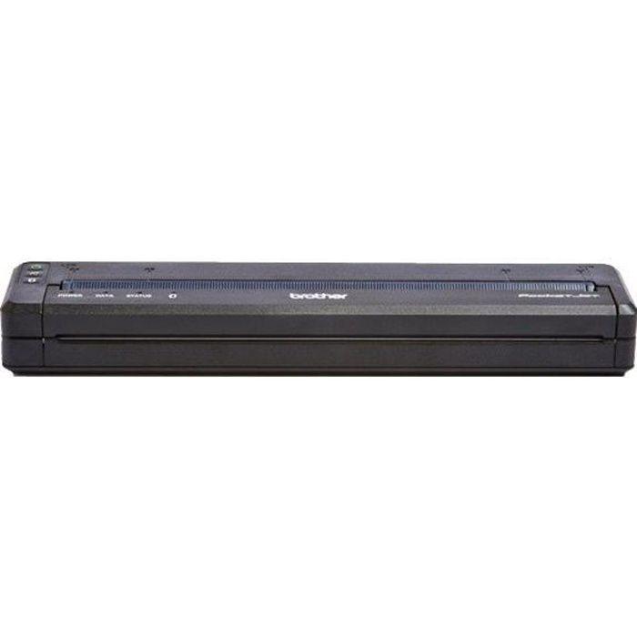 Brother PocketJet PJ-763MFi Imprimante monochrome papier thermique A4 300 x 300 ppp jusqu'à 8 ppm USB 2.0, Bluetooth 2.1 EDR