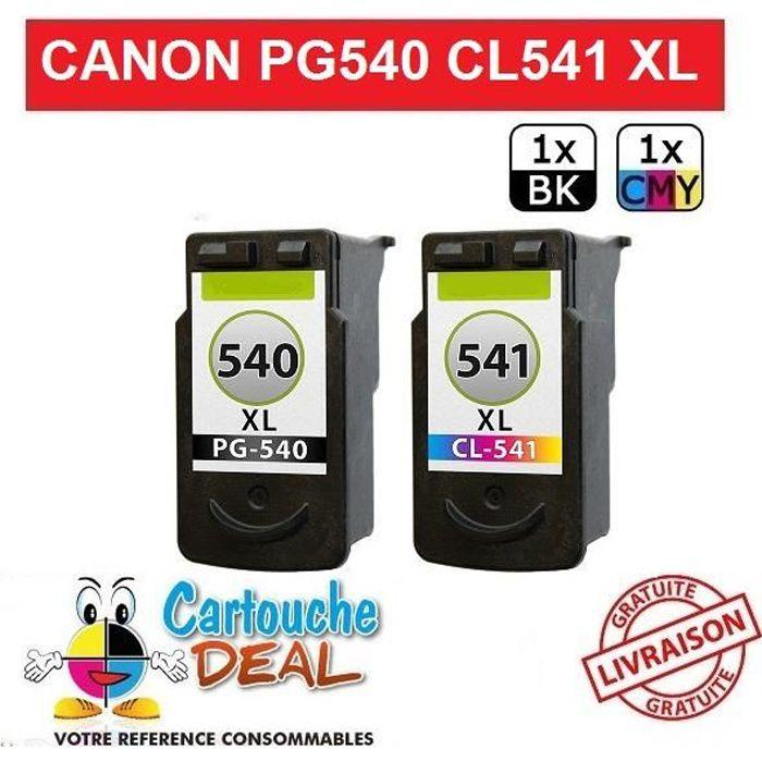 Pack Cartouche générique compatible PG 540 XL CL 541 XL