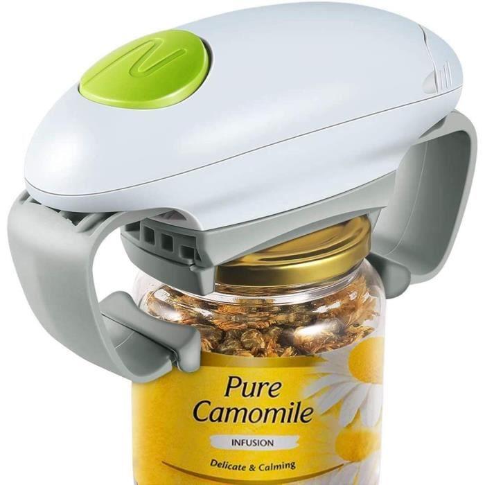 Ouvre-bocal automatique One Touch - Outil d'ouverture de boîte facile et réglable - Accessoire de cuisine multifonction idéal
