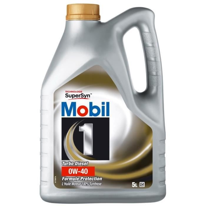 Huile MOBIL 10W40 New Life 5L