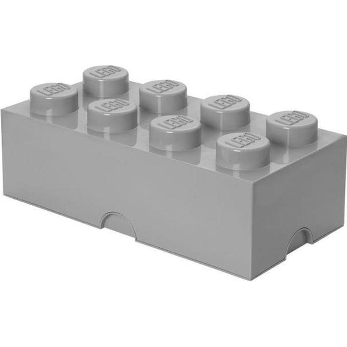 LEGO Brique de rangement - 40031740 - Empilable - Gris pierre 194