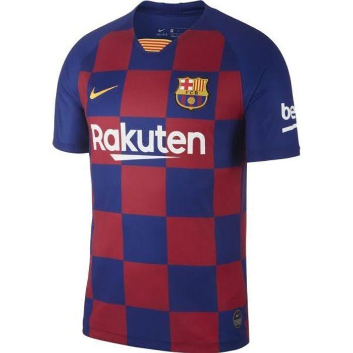 Nike Maillot Barcelone FC Domicile Enfant Bleu /Rouge 2019/2020 Neuf