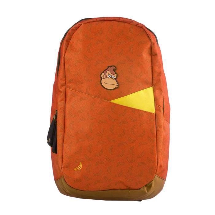Donkey Kong Backpack Bag Bananas All over Print nouveau officiel Nintendo