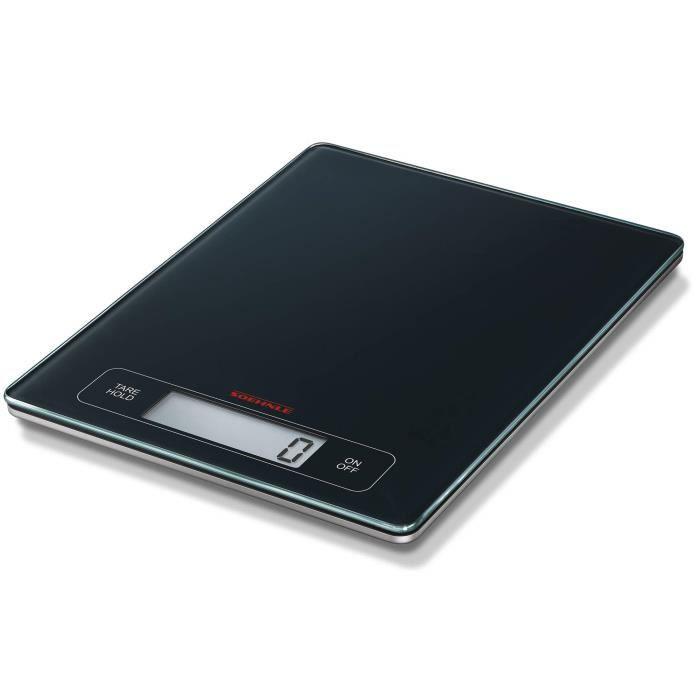 Soehnle 67080 Balance Electronique Page Profi Noir 15 Kg - 1 g