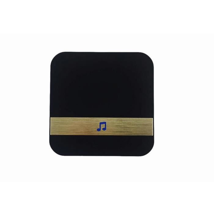 TEMSPA Carillon Vendu Seul Pour Sonnette Vidéo Sans Fil 2.4G Wi-Fi