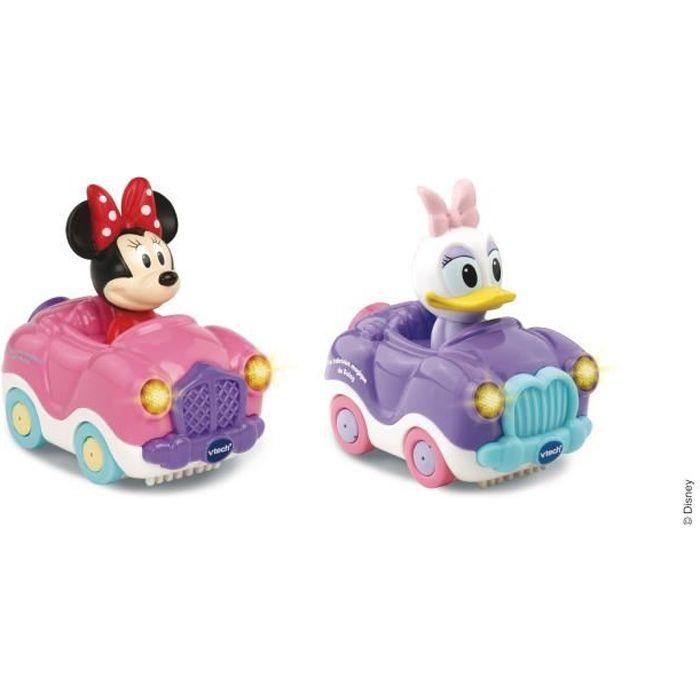 VTECH - Tut Tut Bolides Mickey - Coffret Duo - Cabriolet de Minnie
