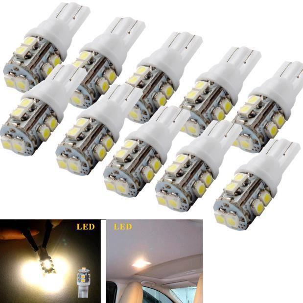 2x MERCEDES SPRINTER 5-T 906 lumineux LED Blanc Xénon Plaque Minéralogique ampoules