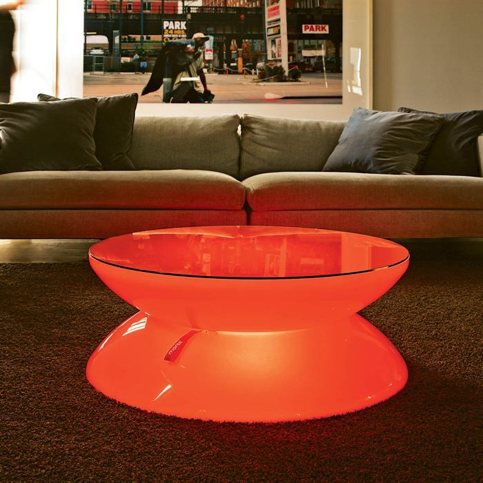 table basse lounge led avec batterie achat vente table basse table basse cdiscount. Black Bedroom Furniture Sets. Home Design Ideas
