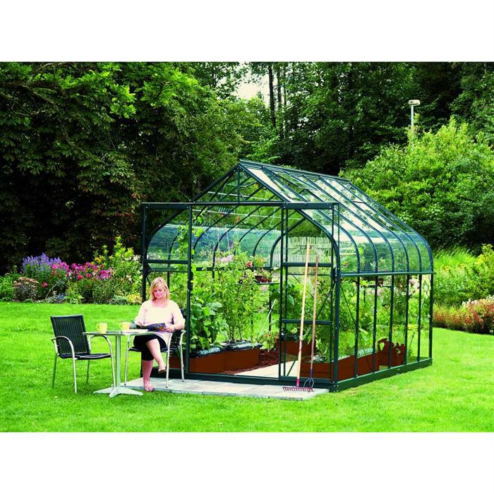 serre diana en verre horticole achat vente serre de jardinage serre diana en verre horticole. Black Bedroom Furniture Sets. Home Design Ideas