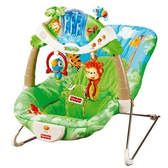 fisher price transat de la jungle achat vente transat. Black Bedroom Furniture Sets. Home Design Ideas