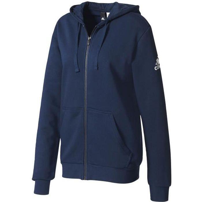 veste adidas homme bleu capuche