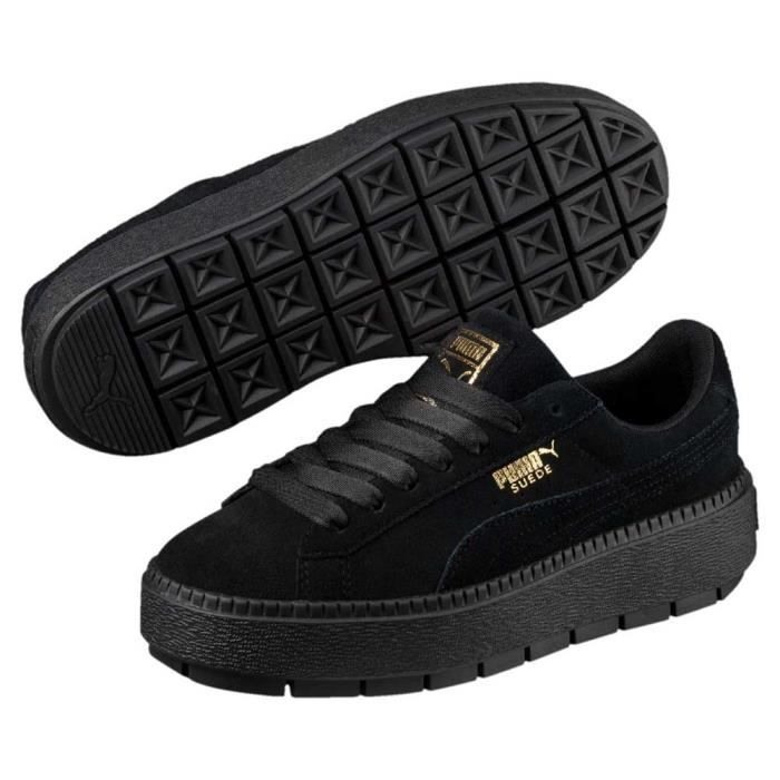 puma noir chaussure femme