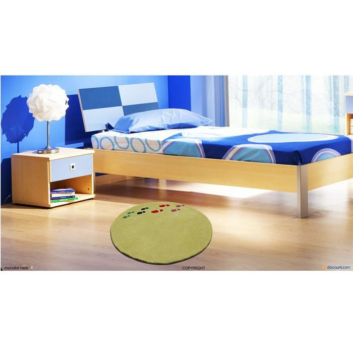 tapis rond achat vente tapis cdiscount. Black Bedroom Furniture Sets. Home Design Ideas