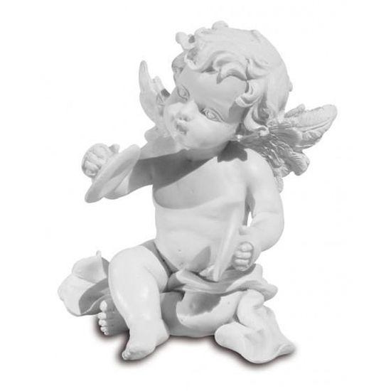 AVENUELAFAYETTE Lot de 3 Figurines Ange Musicien 9,5 cm