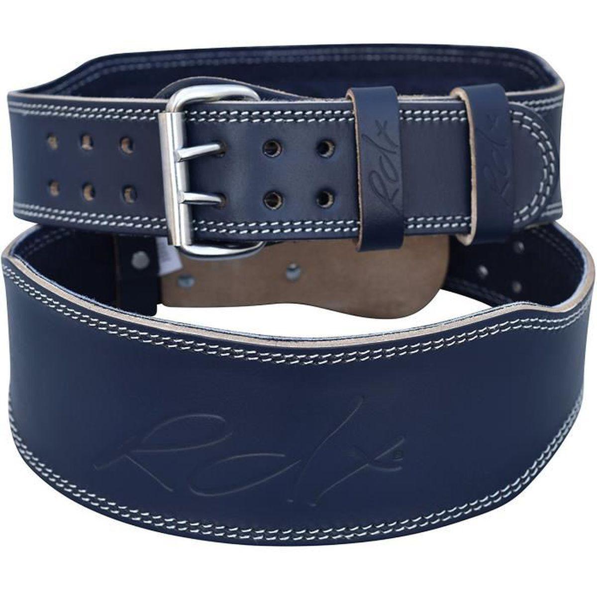 "RDX Poids Levage 4 /""nubuck cuir ceinture support dos sangle sport formation puissance"