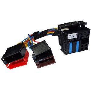 ISO branche Adaptateur T-Câble Adapté Pour Mercedes avec Audio 20 30 pour Parrot THB