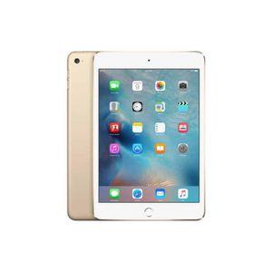 TABLETTE TACTILE Tablette tactile Apple - iPad Mini 4 Or - Wifi + C