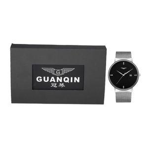 MONTRE GUANQIN Ultra-mince Hommes Quartz Montre-bracelet