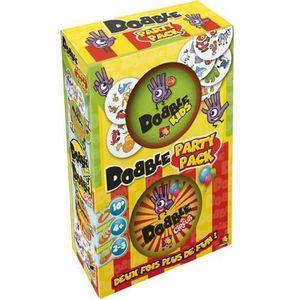 JEU SOCIÉTÉ - PLATEAU Jeu du Dobble Party Pack Boris