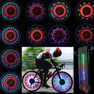 DÉCORATION DE VÉLO 16 LED voiture de moto vélo de vélo pneu de la bic