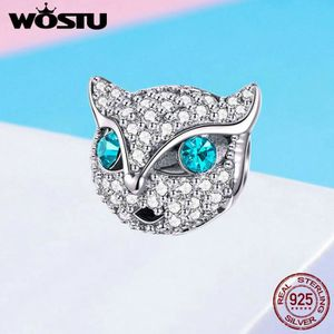 Charm's WOSTU Charms 925/1000 Sterling Argent Chaton Chat