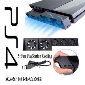 VENTILATEUR CONSOLE Ps4 Ventilateur de refroidissement, Sony PlayStati
