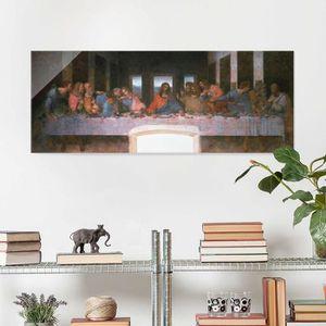 CADRE PHOTO 40x100 cm verre image - impressions leonardo da vi