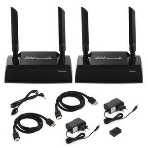 REPARTITEUR TV XCSOURCE 100m HD 1080P sans fil HDMI Extender 2.4G