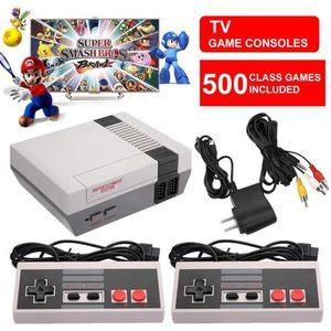 JOYSTICK JEUX VIDÉO NES Mini Classic Edition Games Console avec 500 Je