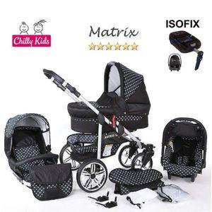 PACK VOYAGE Matrix2 Poussette Trio ISOFIX Nacelle Siège Auto P