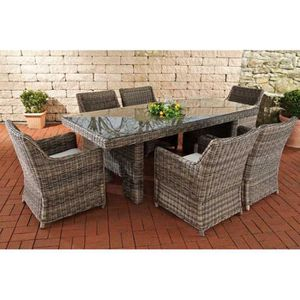 Table jardin largeur 100 cm