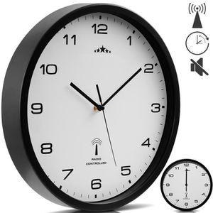 HORLOGE - PENDULE Horloge murale radio pilotée Ø 31 cm Changement he